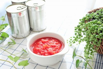 トマト缶の保存方法はタッパーやジップロックで冷凍