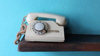 非通知設定の解除方法(固定電話)