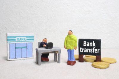 銀行なら両替機が使える?